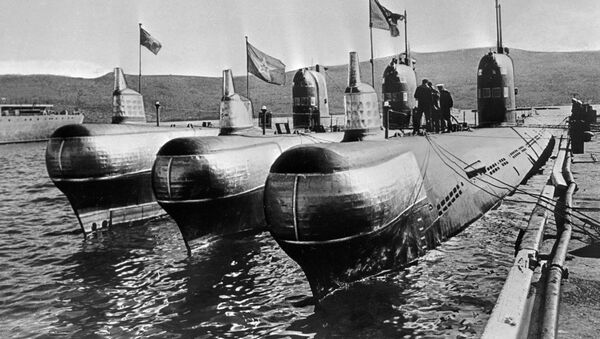 Dieslové ponorky v přístavu, 1968 - Sputnik Česká republika