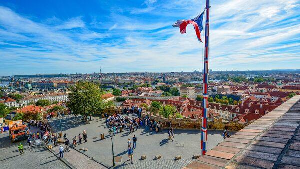 Česká vlajka v Praze - Sputnik Česká republika