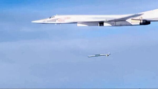Start rakety Ch-101 ze strategického bombardéru Tu-160 - Sputnik Česká republika