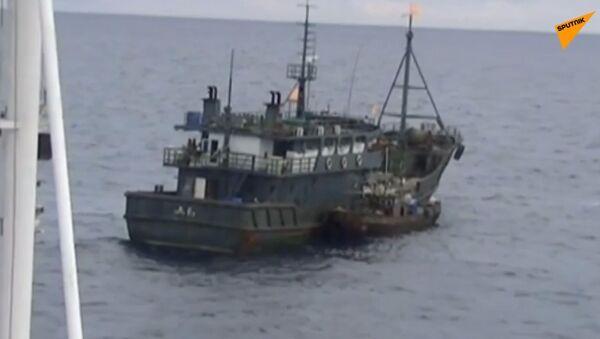 Objevilo se video, jak pytláci z KLDR zaútočili na ruskou pohraniční stráž - Sputnik Česká republika