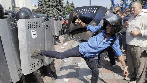 Protestní akce v Kyjevu - Sputnik Česká republika