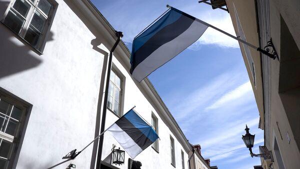 Estonská vlajka - Sputnik Česká republika