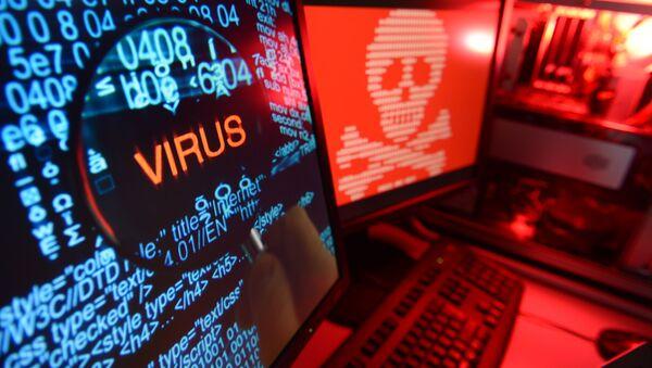 Virus na PC. Ilustrační foto - Sputnik Česká republika