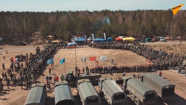 Podívejte se na unikátní vojenské taktické hry v Rusku, zahrát si může kdokoliv - Sputnik Česká republika