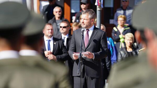 Bývalý premiér Peter Pellegrini - Sputnik Česká republika