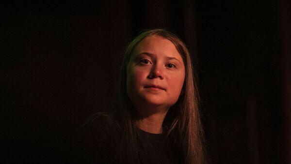 Švédská aktivistka Greta Thunbergová - Sputnik Česká republika