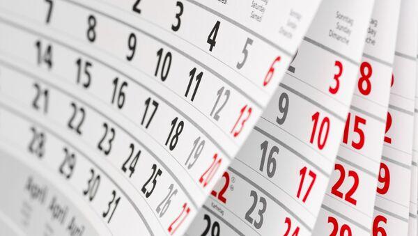 Kalendář s čísly - Sputnik Česká republika