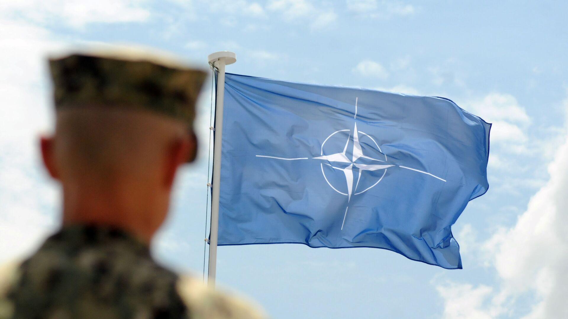 Vlajka NATO - Sputnik Česká republika, 1920, 13.07.2021