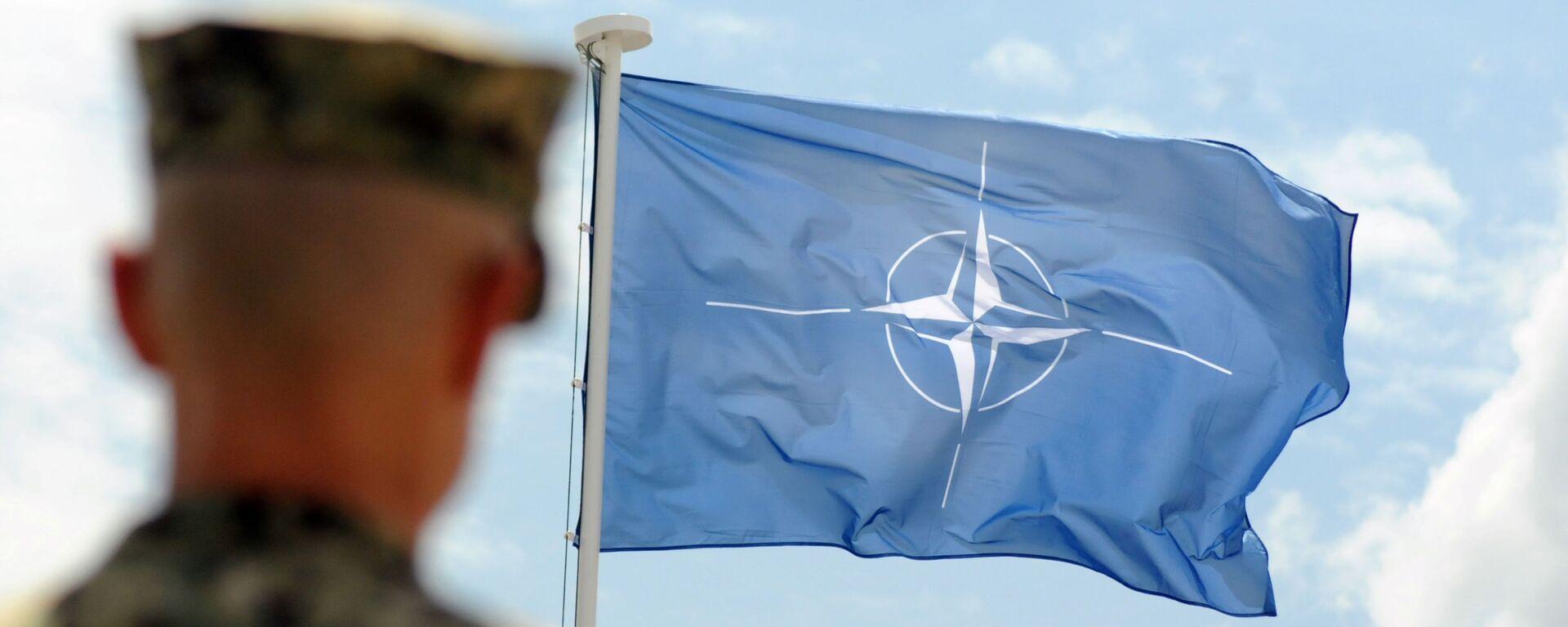 Vlajka NATO - Sputnik Česká republika, 1920, 01.08.2021