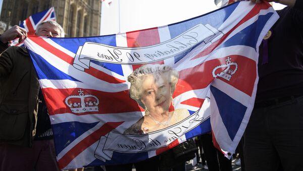 Příznivci brexitu v Londýně - Sputnik Česká republika