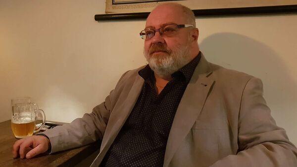 Zdravotnický záchranář Libor Hlaváček - Sputnik Česká republika