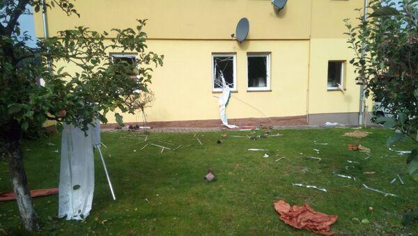 Výbuch v rodinném domě. Obce Kerhartice, Orlickoústecko. - Sputnik Česká republika