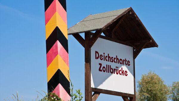 Hraniční přehod v Německu - Sputnik Česká republika