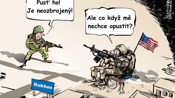 USA: Syřané fakt mají rádi Rukban! - Sputnik Česká republika