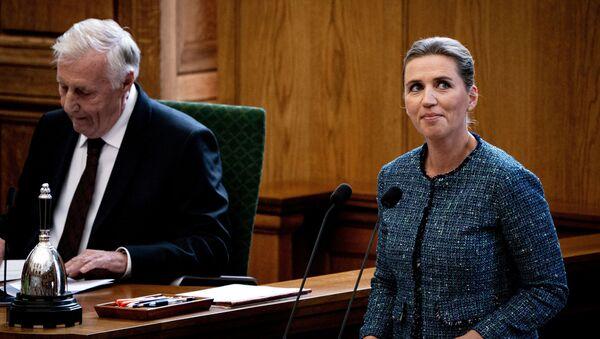 Dánská premiérka Mette Frederiksenová - Sputnik Česká republika