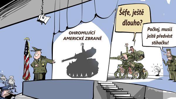 Ohromující americké zbraně - Sputnik Česká republika