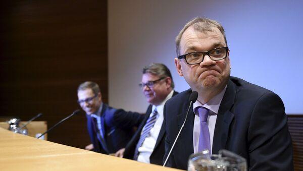 Finský premiér Juha Sipilä - Sputnik Česká republika