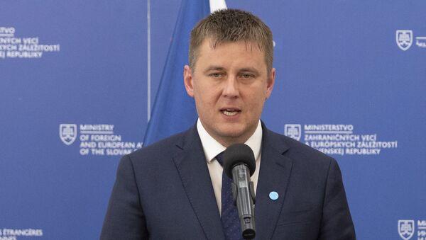 Ministr zahraničí ČR Tomáš Petříček  - Sputnik Česká republika