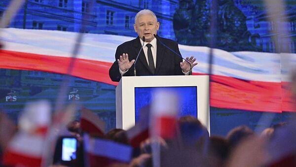 Předseda polské politické strany Právo a spravedlnost Jaroslaw Kaczyński - Sputnik Česká republika