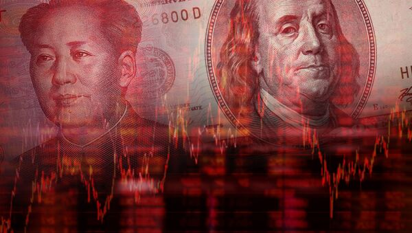 Juan a dolar - Sputnik Česká republika