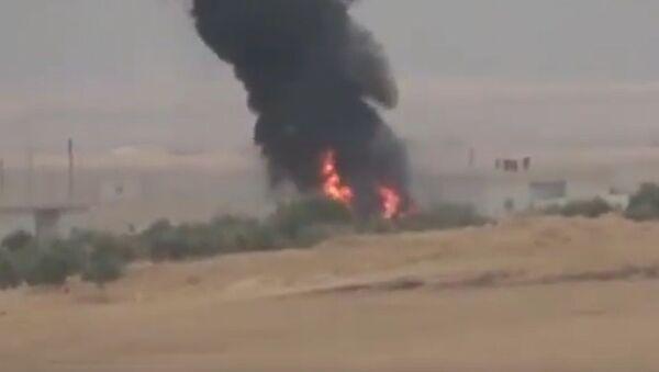 Zničení německé vojenské techniky tureckých útočníků v Sýrii - Sputnik Česká republika