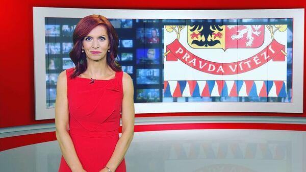 Česká moderátorka Nora Fridrichová  - Sputnik Česká republika