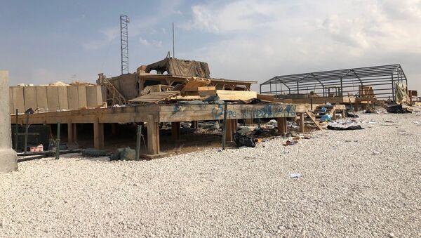 Vojenská základna USA v Sýrii, kterou opustili američtí vojáci - Sputnik Česká republika