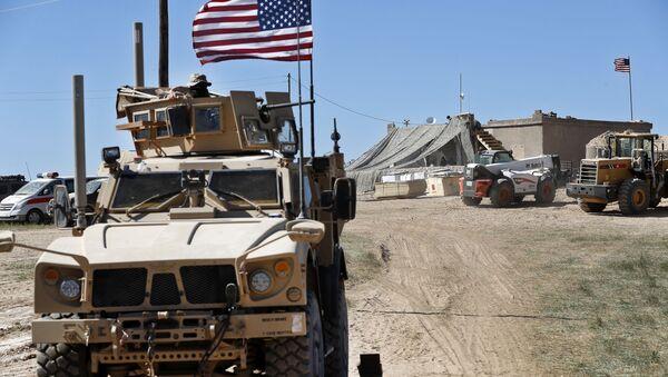 Americká vojska v Sýrii. Ilustrační foto - Sputnik Česká republika