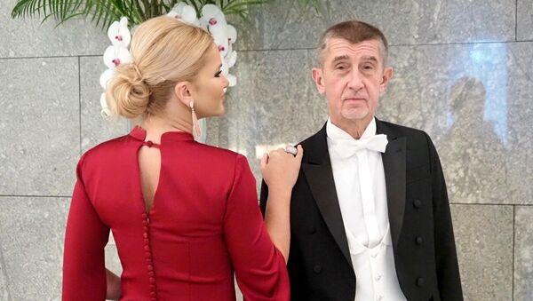 Předseda vlády Andrej Babiš se svou manželkou Monikou v Japonsku - Sputnik Česká republika