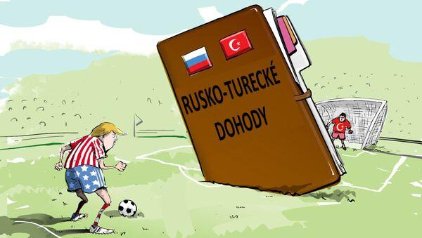 Turecko má příliš mnoho trumfů, aby se proti němu bojovalo - Sputnik Česká republika