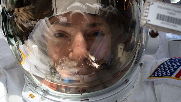 Americké astronautky Christina Kochová a Jessica Meirová - Sputnik Česká republika
