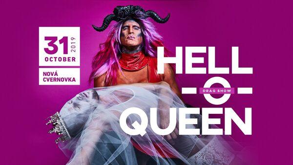 Reklama Drag Show Hell-o-queen 2019 na Slovensku - Sputnik Česká republika