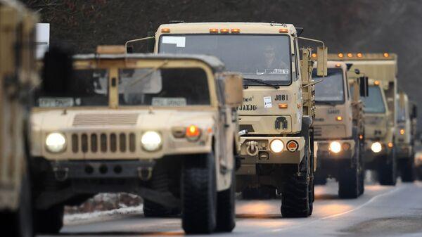Americká armáda v Německu. Ilustrační foto - Sputnik Česká republika