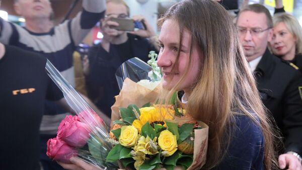 Maria Butinová se dostala z vězení: Žila jsem v iluzi, že USA jsou právním státem  - Sputnik Česká republika