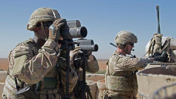 Americká armáda se vrátila do severovýchodní Sýrie - Sputnik Česká republika