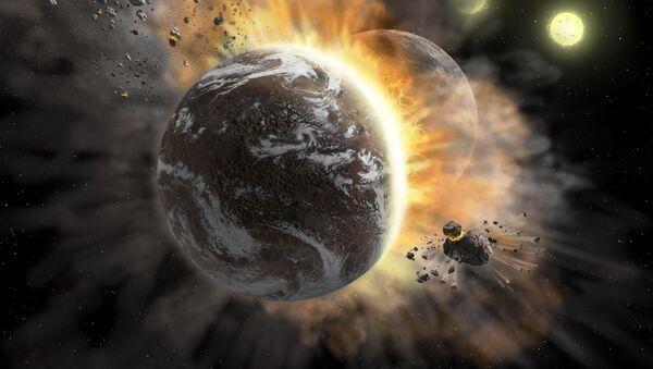 Srážka exoplanet - Sputnik Česká republika