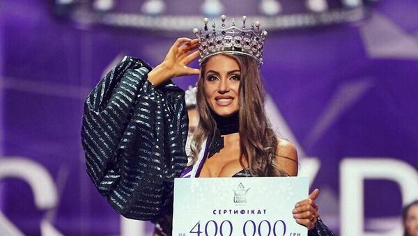 Miss Ukrajina 2019 Margarita Pasha - Sputnik Česká republika