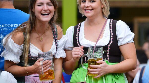 Oktoberfest v Mnichově - Sputnik Česká republika