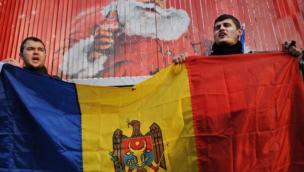 Protest v Moldávii. Archivní foto. - Sputnik Česká republika