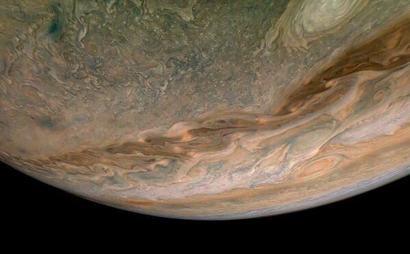 Severní polokoule Jupiteru. - Sputnik Česká republika