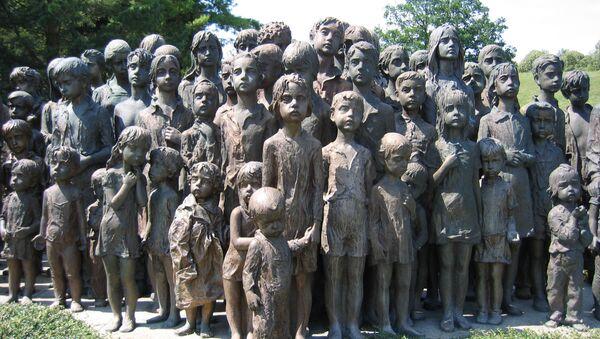 Památník dětským obětem, Lidice - Sputnik Česká republika