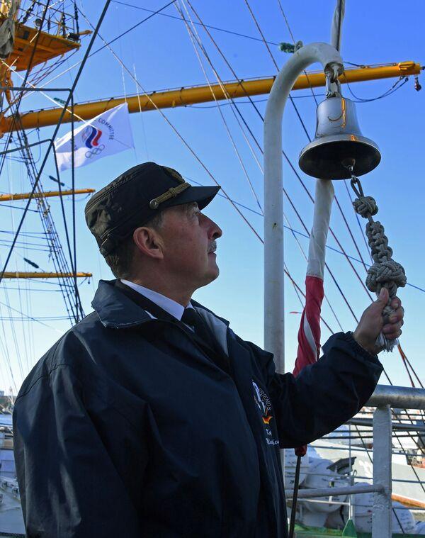 Kapitán plachetnice Pallada, která se vydává na cestu kolem světa. - Sputnik Česká republika