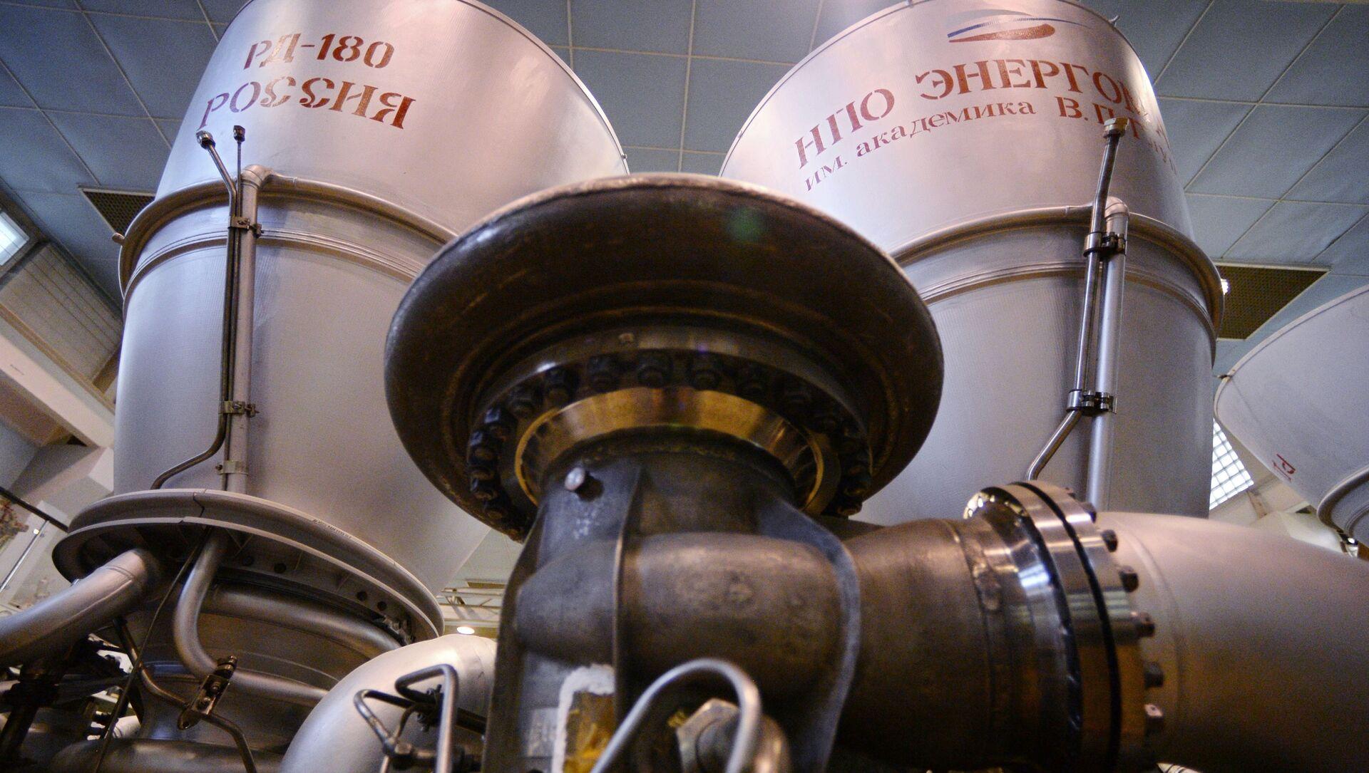 Raketový motor RD-180 - Sputnik Česká republika, 1920, 08.04.2021