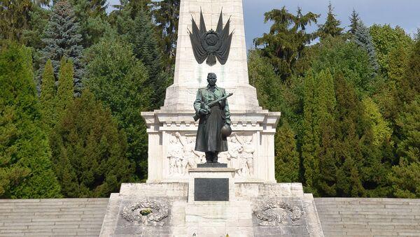 Památník Rudé armádě (Svidník, Slovensko) - Sputnik Česká republika
