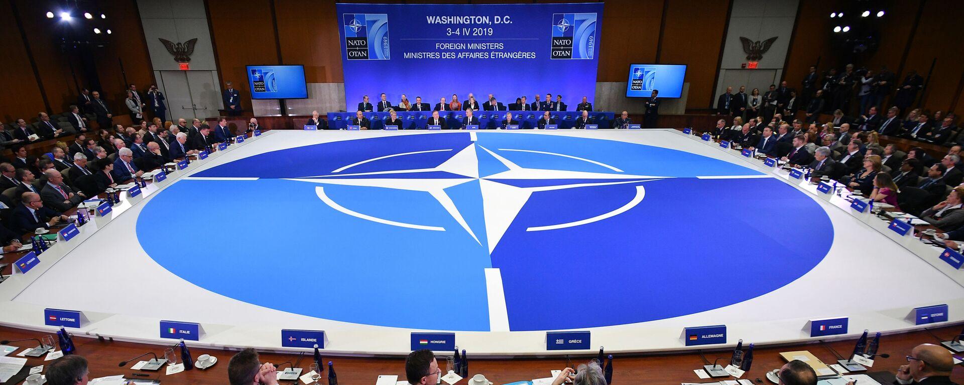 Zasedání ministrů zahraniční NATO ve Washingtonu - Sputnik Česká republika, 1920, 22.04.2021