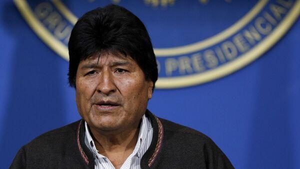 Bolivijský prezident Evo Morales - Sputnik Česká republika