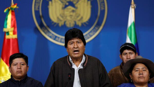 Bolívijský prezident Evo Morales - Sputnik Česká republika