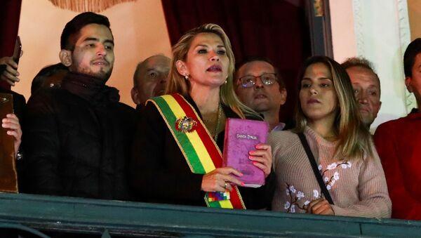 Prezidentka Bolívie Jeanine Áňezová - Sputnik Česká republika