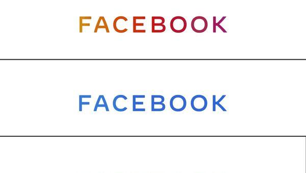 Nové logo Facebook - Sputnik Česká republika