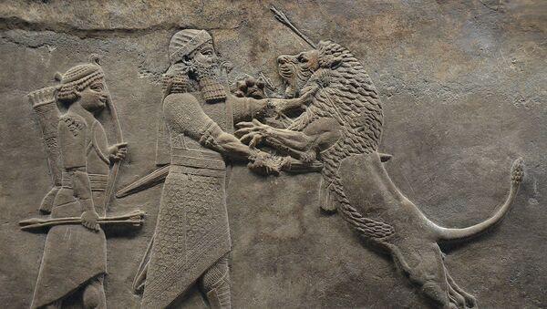 Aššurbanipal, asyrský král - Sputnik Česká republika